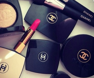 chanel, maquillage, and pink image