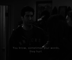 friends, hurt, and words image