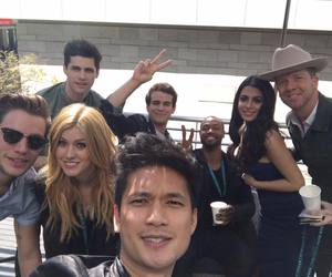 shadowhunters, cast, and dominic sherwood image