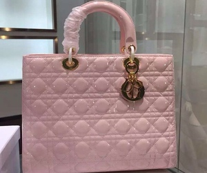designer, dior, and pink handbags image