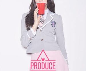 produce 101, i.o.i, and 김도연 image
