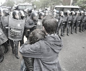 anarchy, couple, and photography image