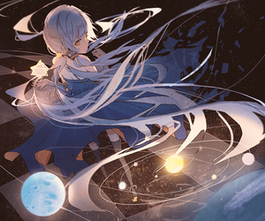 vocaloid, anime girl, and stardust image