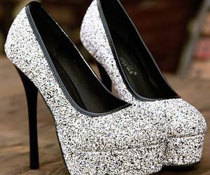 high heels and silver image