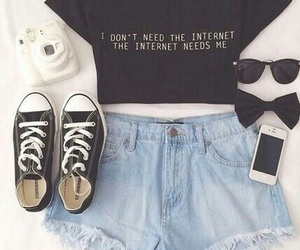 black, clothes, and image image