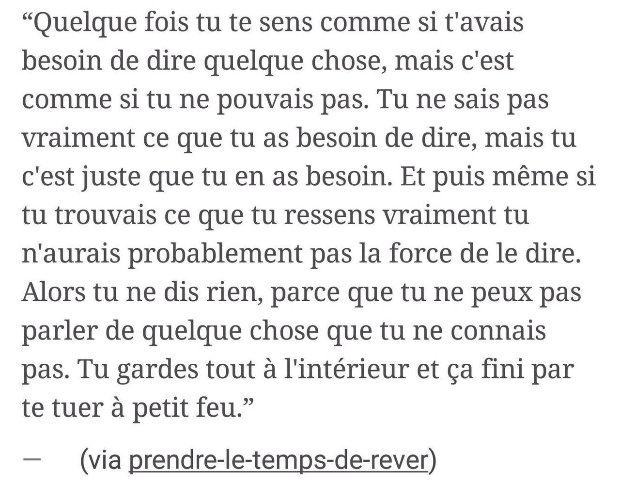 Image About Quote In Textes By L On We Heart It