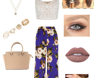 clothes, flower, and outfit image