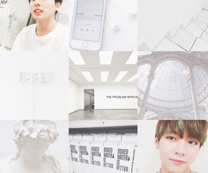 aesthetic, mood board, and white image