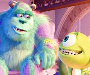 friend, monsters inc, and pastel image