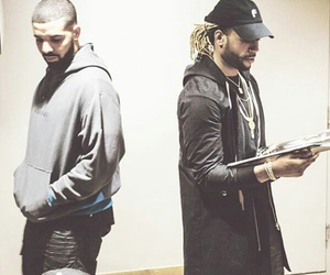 Drake, partynextdoor, and ovó image