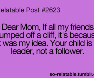 leader, mom, and quote image