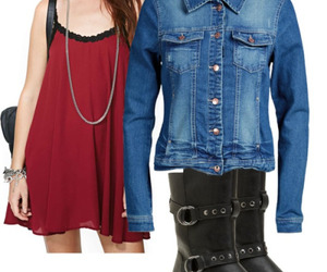 outfit, the vampire diaries, and tvd image