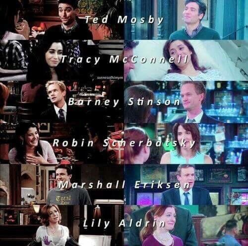 himym, how i met your mother, and lily aldrin image