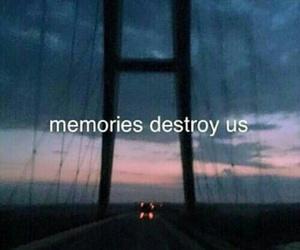 memories, quotes, and sad image