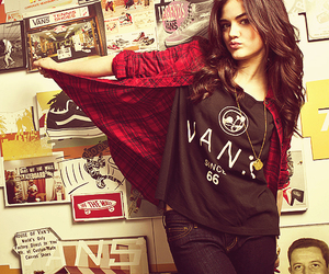 be strong, vans, and lucy hale image