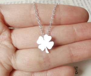 lucky clover, 925 sterling silver, and st patricks day image