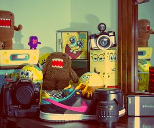 domo, spongebob, and camera image