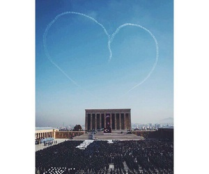 heart, leader, and sky image