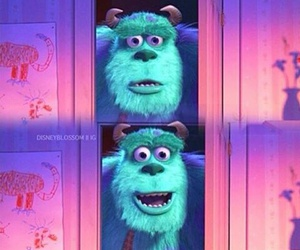 disney and monster inc image