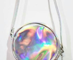 bag, hologram, and pastel image