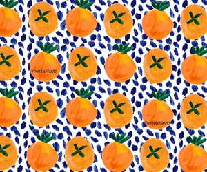 citrus, dots, and fruit image
