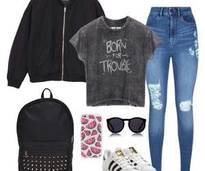 adidas, Polyvore, and ropa image