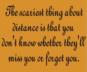 distance, relationships quotes, and quotes image