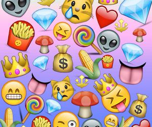 emoji, background, and wallpaper image