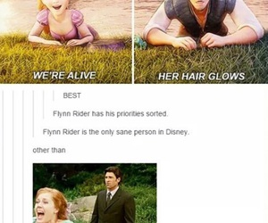funny, disney, and rapunzel image