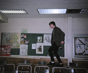 grunge, boy, and school image