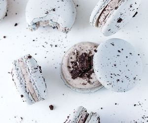 food, white, and blue image