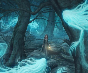 fantasy, girl, and magic image