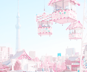 attraction, kawaii, and pastel image
