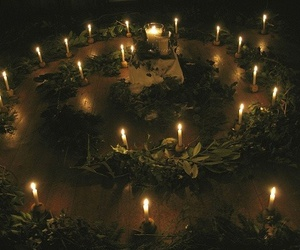witch, light, and witchcraft image