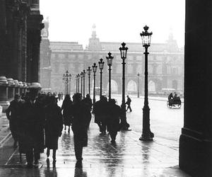people and rain image