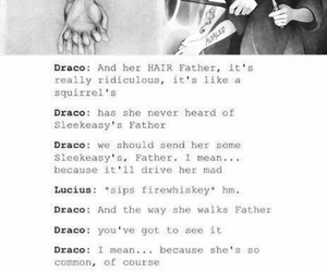 couple, d, and draco malfoy image