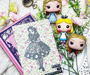 alice in wonderland, book, and books image