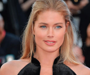 model and cannes film festival image