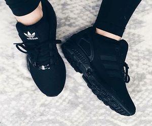adidas, love, and black image