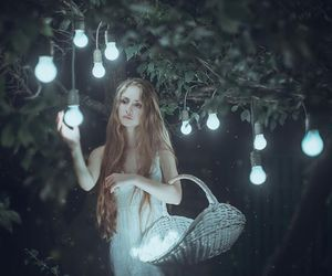 light, fantasy, and photography image