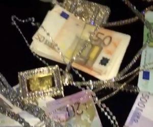 money, luxury, and dark image