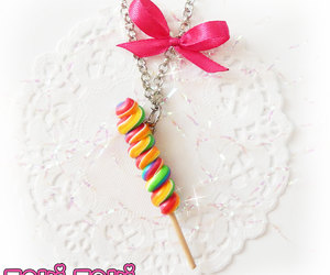 candy, polymer clay, and miniature food image