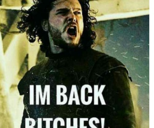 jon snow and game of thrones image