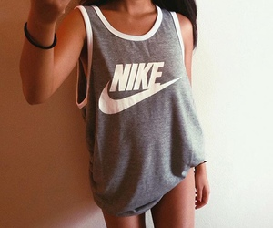 nike, girl, and fit image