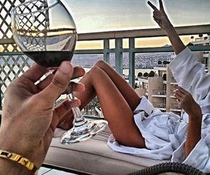 luxury, wine, and summer image