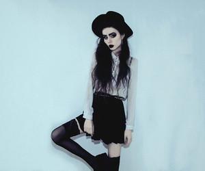 grunge, alternative, and skirt image