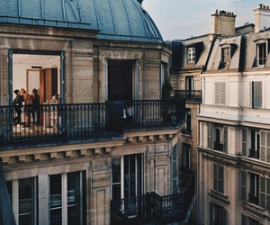 architecture, building, and paris image