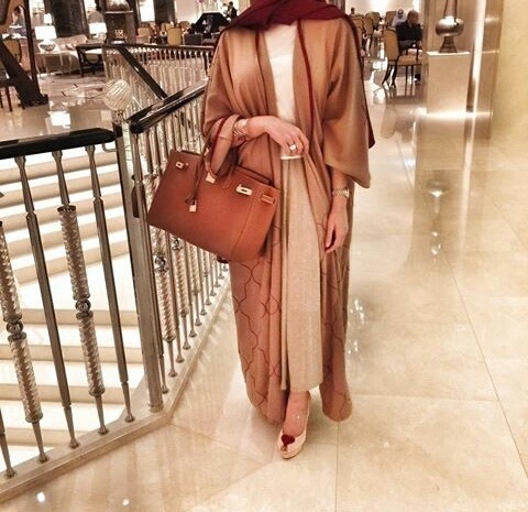 classy, muslim, and style image