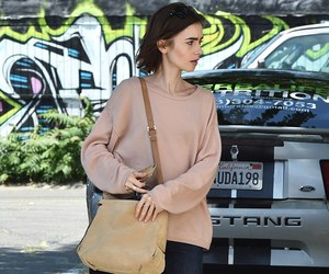 beautiful and lily collins image