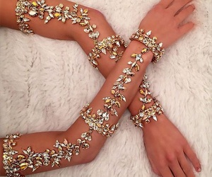 accessories, stunning, and body jewelry image